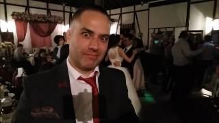 Жених с невестой на свадьбе танцуют под Ramstain!