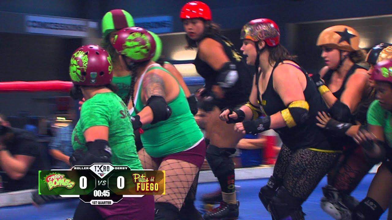 Watch Ann Calvello roller derby video