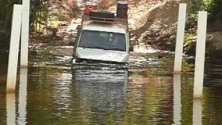 20070910 4WD Jim Jim River Crossing