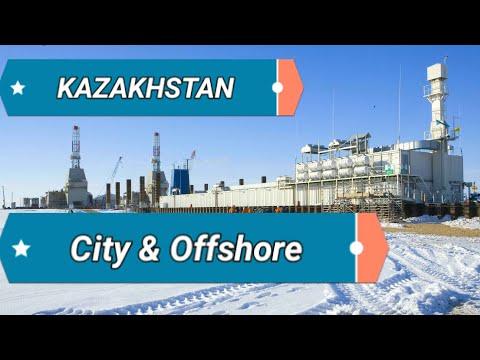 Kazakhstan City & Offshore Platform and Rig / കസാഖിസ്ഥാൻ Oil & Gas Field അറിയേണ്ട കാര്യങ്ങൾ.