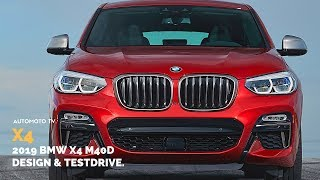 2019 BMW X4 M40d Ready To Fight Mercedes GLC Coupe.