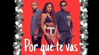 Por que te vas  Tini feat. Cali Y El Dandee(Lyrics)