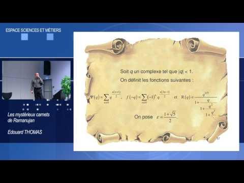 """Les Carnets de Ramanujan 4/4 : Le """"mystère"""" sur des exemples"""