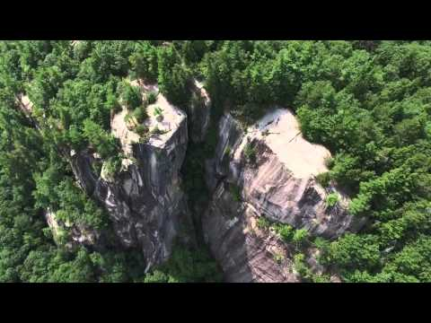 Cathedral Ledge North Conway New Hampshire Dji Phantom 3 Drone Aerial