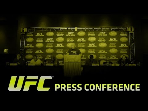 UFC 180: Ticket On-Sale Press Conference