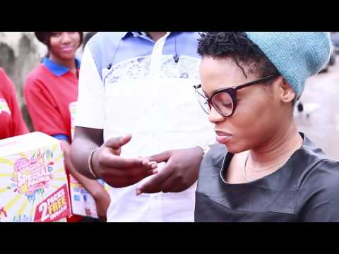 Chidinma Ekile receives Indomie Special celebrity Pack