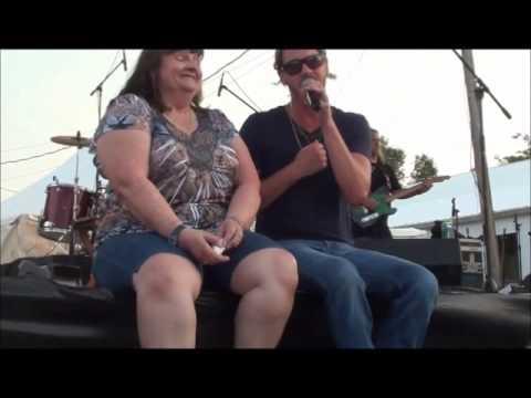 Bucky Covington at Jackson County Ohio Fair 2013 with Terry Cozad Purnell