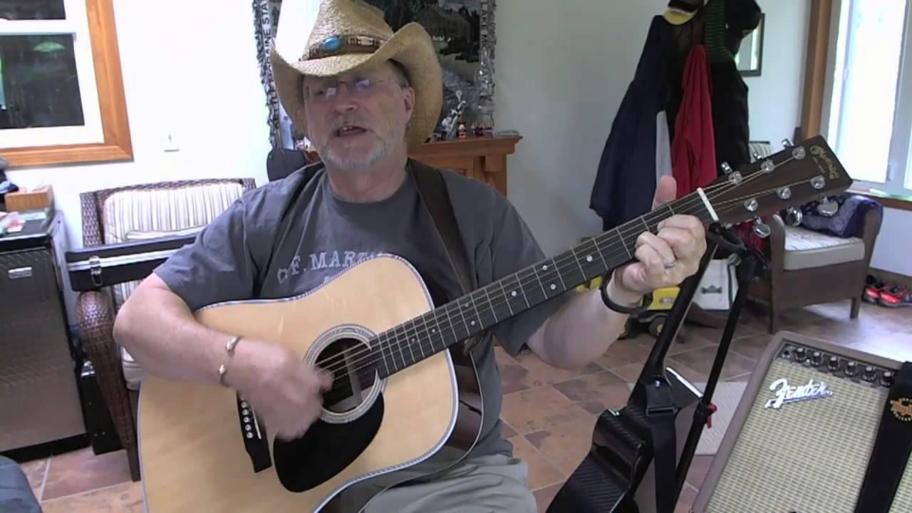 15   Louisiana Saturday Night   Mel McDaniel cover with guitar chords and  lyrics in description