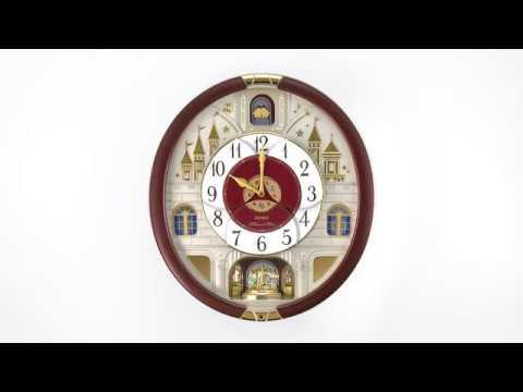 SEIKO 2016 Special Collector's Edition Clock - QXM565BRH (セイコーからくり時計)