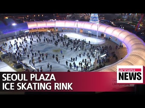 Seoul Plaza ice skating rink opens today to the public