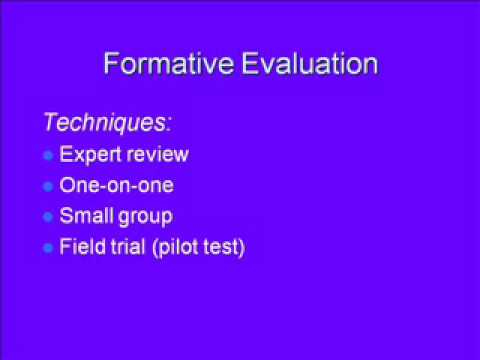 compares and contrasts formative summative and confirmative evaluation in the instructional design p 国际绩效改进协会 人力绩效技术手册(ispi hpt)handbook of human performance technology-principles, practices, and potential.