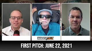 MLB Picks and Predictions   Free Baseball Betting Tips   WagerTalk's First Pitch for June 22