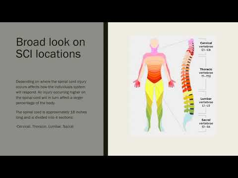 HPR 2020 Disability Presentation on Spinal Cord Injuries