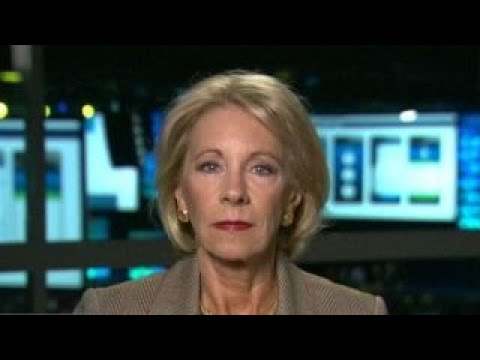 Teachers' union has a stranglehold on many politicians in US: Betsy DeVos