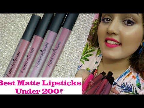 I amsterdam Lipstick | Review and Swatches | Matte Lipsticks Under 200