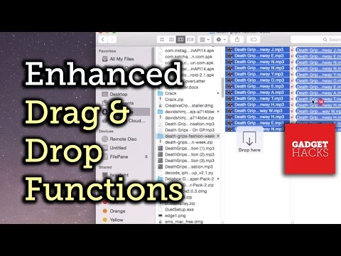 Drag & Drop Files on Your Mac Like You Never Thought Possible [How-To]