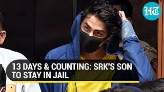 Aryan Khan can't leave jail: Bail plea rejected again; NCB used Rhea Chakraborty drugs case in court