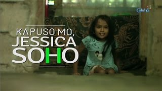 Kapuso Mo, Jessica Soho: 9 year-old crippled girl uses improvised stroller to go to school