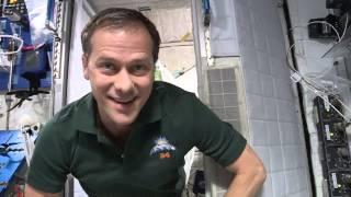 Tom Marshburn Talks Life Onboard Station