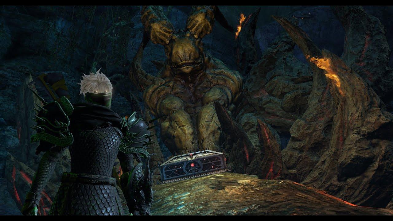 Guild Wars 2 - Hidden Area/Easter egg — Black Citadel