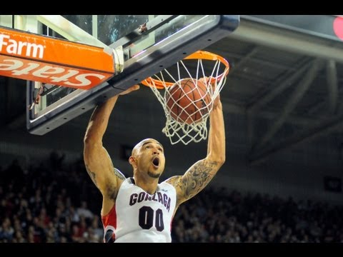 Get to know Gonzaga senior center Rob Sacre - Presented by the West Coast Conference