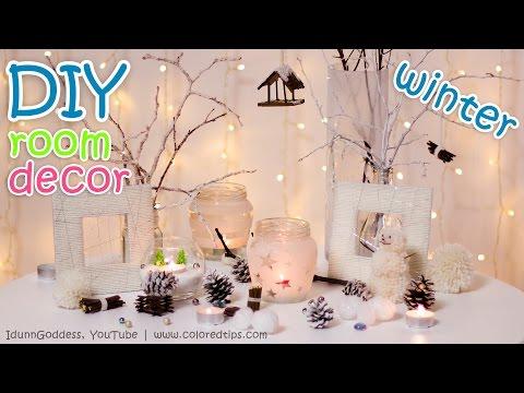 10 DIY Winter Room Decor Ideas