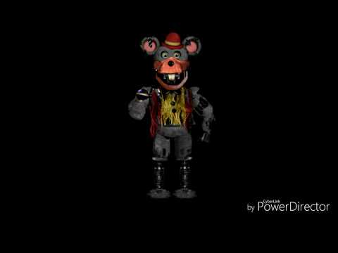 Withered Chuck E Cheese characters sing FNAF song