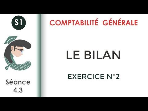 CG1; Séance 5 :  Exercices Du Bilan