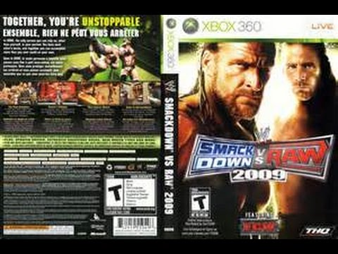 Wwe smackdown vs. Raw 2009 xbox 360 gameplay tag team youtube.