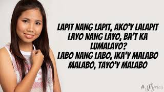 Kahit Ayaw Mo Na - Lie Reposposa (cover) (Lyrics 2019)
