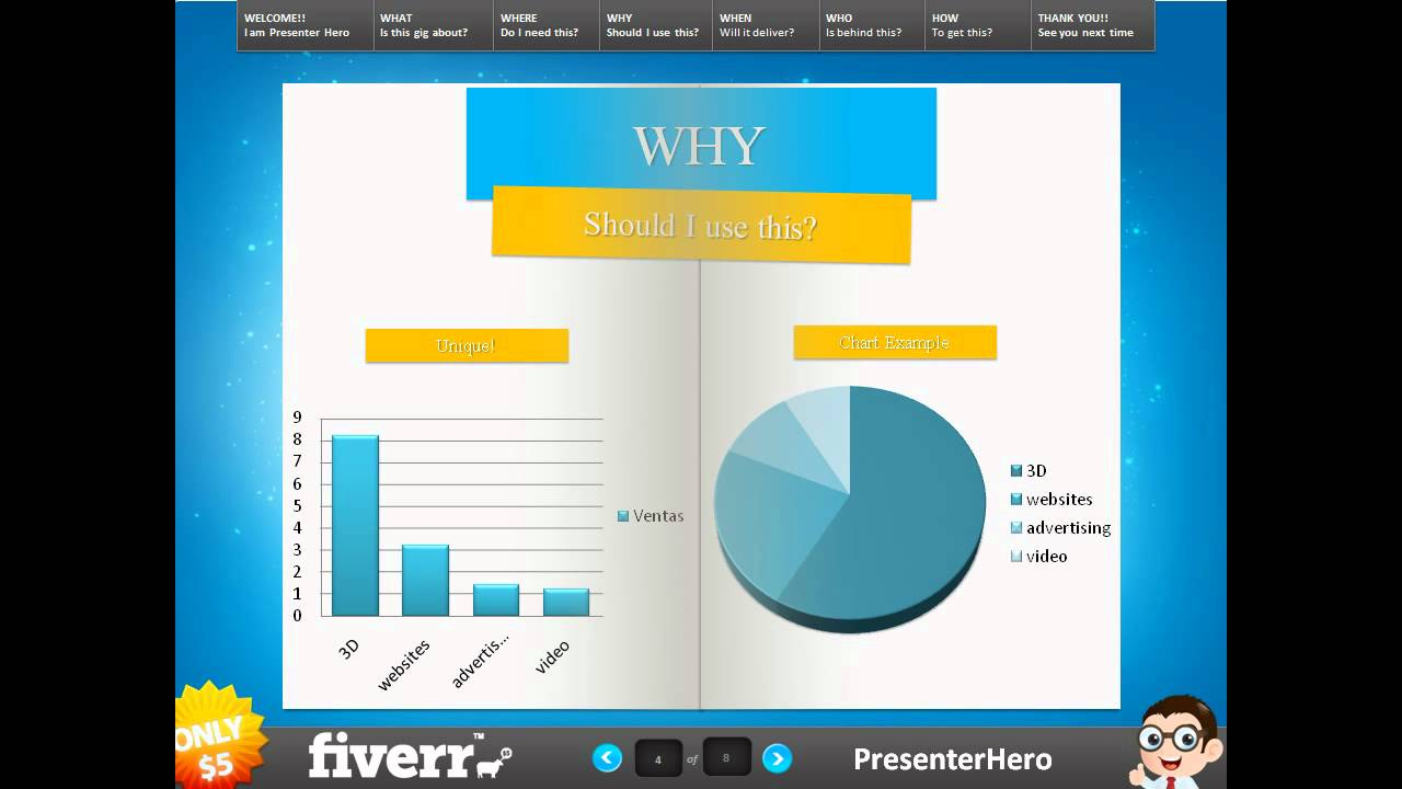 magical Book Presentation, You can create an awesome powerpoint ...