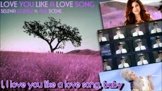 "[HD] Selena Gomez - ""LOVE YOU LIKE A LOVE SONG"" - Official Radio Instrumental"