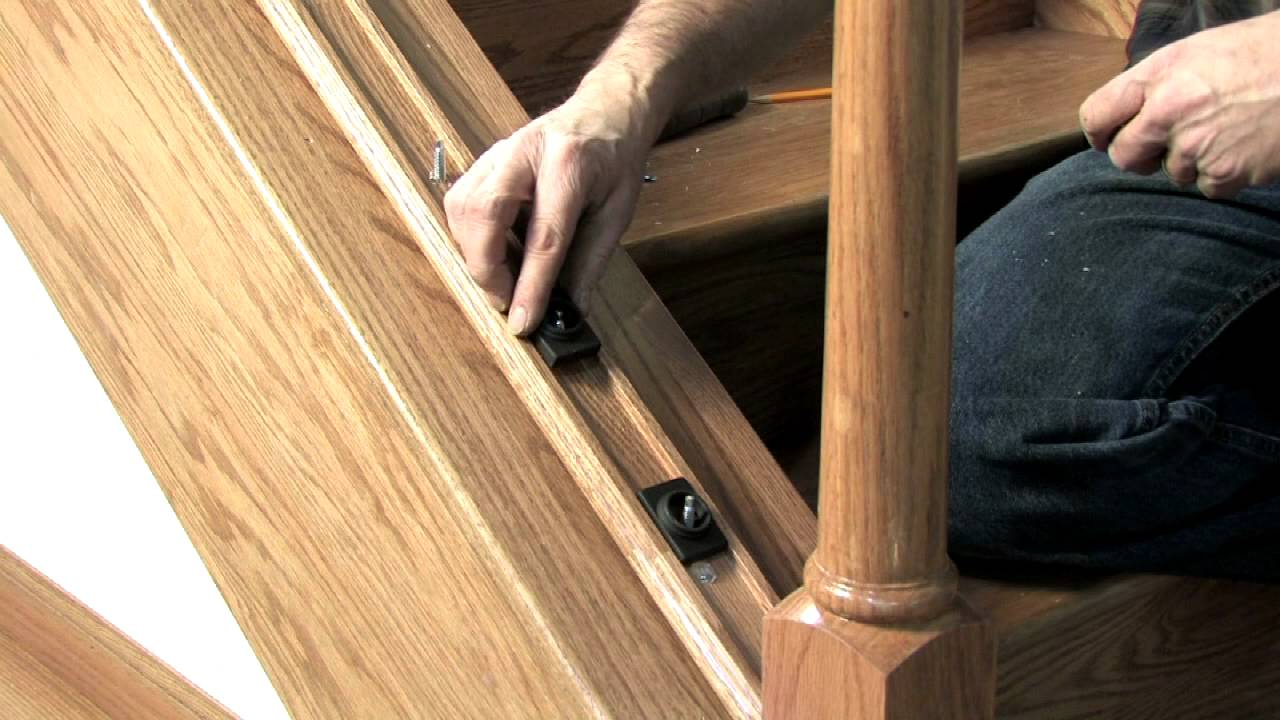 L J Smith Ironpro Detailed Installation Video Youtube   Installing Wood Balusters On An Angle   Stair Parts   Stair Spindles   Banister   Knee Wall   Handrails
