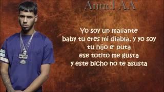 maleante hp official remix letras benny benni ft anuel aa farruko darkiel y mas