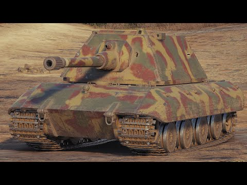 World of Tanks E100 - 8 Kills 9,9K Damage