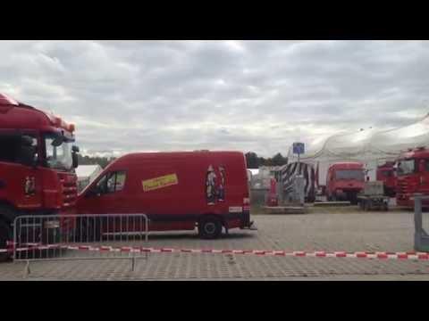 Circus KNIE montage Bern 2014 (12)