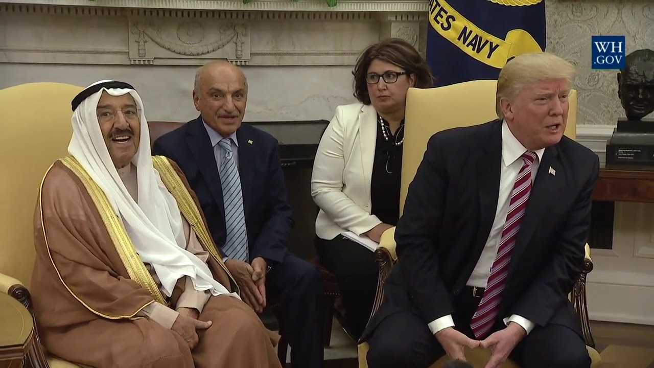 President Trump Meets with the Emir of Kuwait - 9/7/17