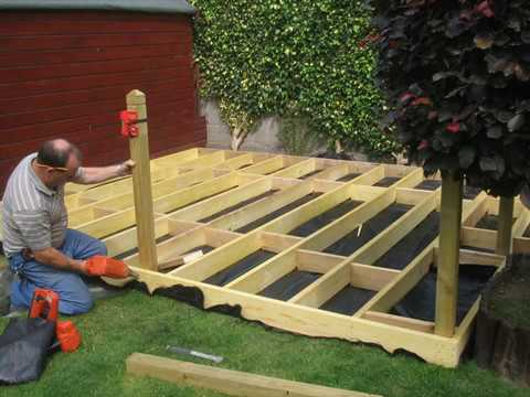 Garden Decking Design Ideas Photos - YouTube