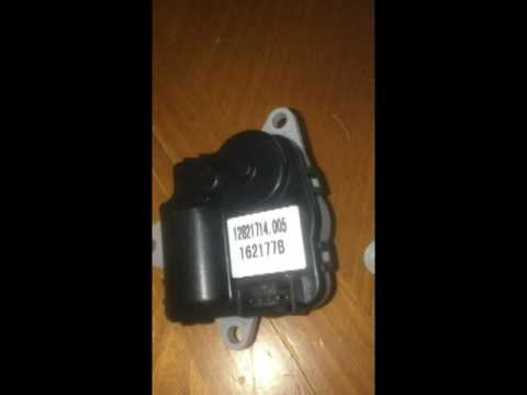 How To Replace A Clicking Air Inlet Actuator 2010