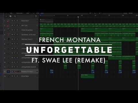 Making a Beat: French Montana - Unforgettable ft. Swae Lee