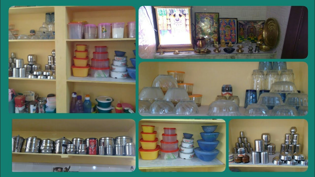 Kitchen Organising Ideas In Telugu|kitchen Tour In Telugu|kitchen  Organizing Ideas|