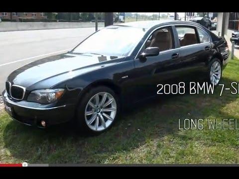 BMW Series Li E Sedan YouTube - 2008 bmw 745li