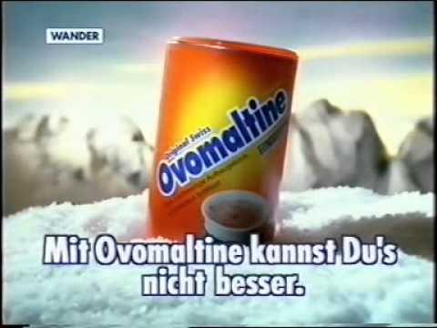 Ovomaltine Werbung