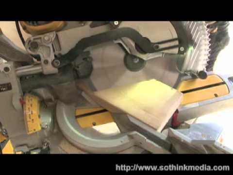 Serra de meia esquadria corta diversos materiais a 3.800 rpm