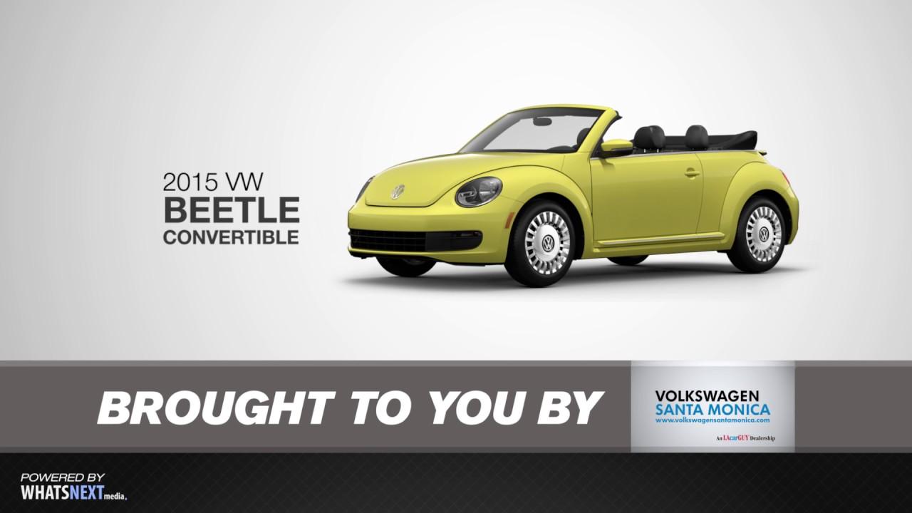 2017 Volkswagen Beetle Convertible Santa Monica An Lacarguy Dealership