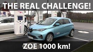 Renault Zoe ZE50 1000 km challenge