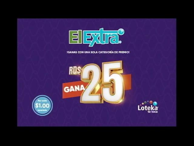 Loteka Lotería Electrónica Sorteo 07:55 PM 14-01-2021