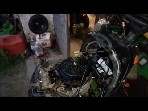 John Deere L120 Mower Wiring Diagram John Deere Throttle Cable Repair Youtube