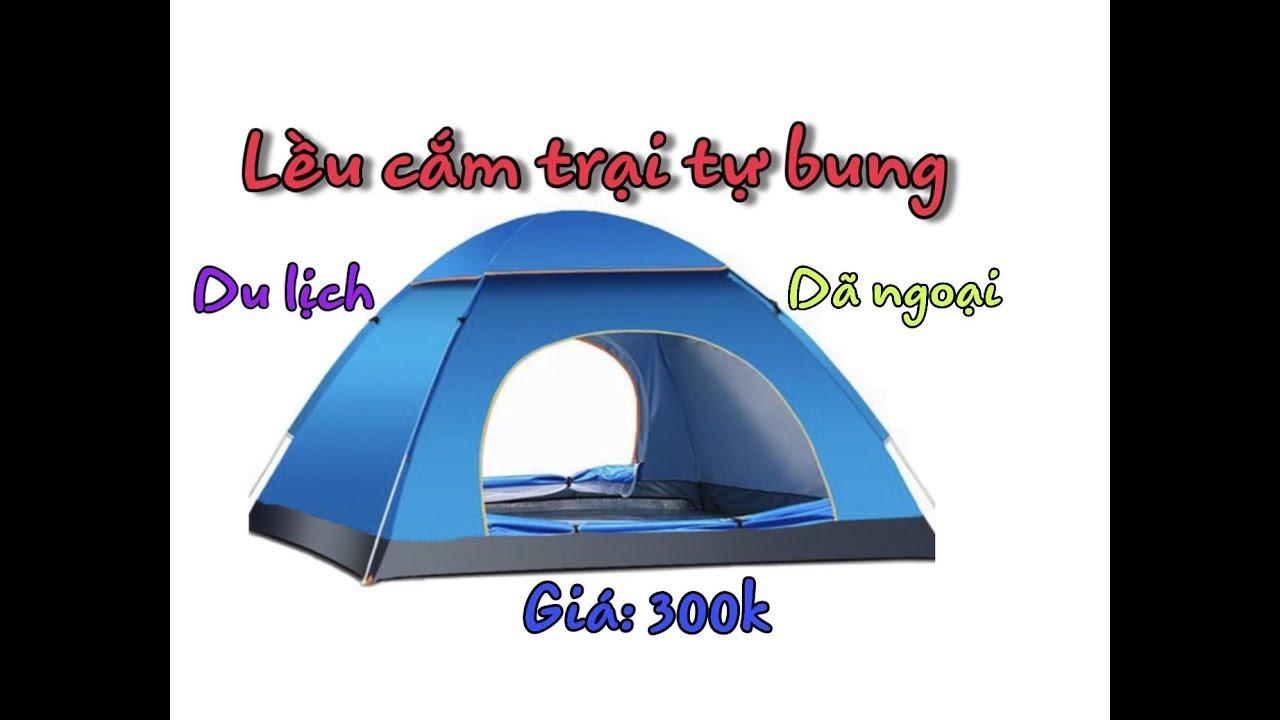 Lều cắm trại tự bung, 4 người du lịch dã ngoại giá 300k sendo