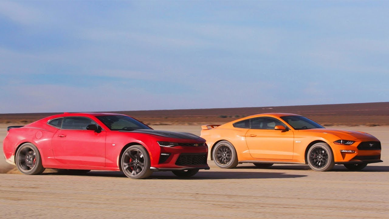 Mustang Vs Camaro >> Desert Drag Race Mustang Gt Vs Camaro Ss 1le Head 2 Head Preview
